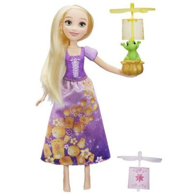 Игрушка Hasbro Disney Princess кукла ПРИНЦЕССА ДИСНЕЙ РАПУНЦЕЛЬ и фонарики hasbro кукла принцесса мерида принцессы дисней b6447 b5825