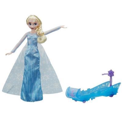 Купить Кукла HASBRO Эльза и санки E0086, пластик, текстиль, Любимые герои