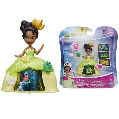 Игрушка Hasbro Disney Princess маленькая кукла с волшебной юбкой в ас-те мини кукла тиана в платье с волшебной юбкой disney princess b8962 page 5