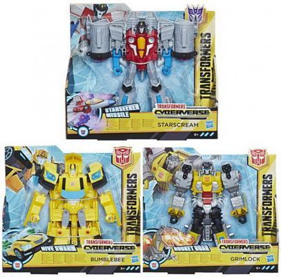 ИгрушкаHasbro Transformers трансформер КИБЕРВСЕЛЕННАЯ 19 см игрушка hasbro кибервселенная e1886eu4