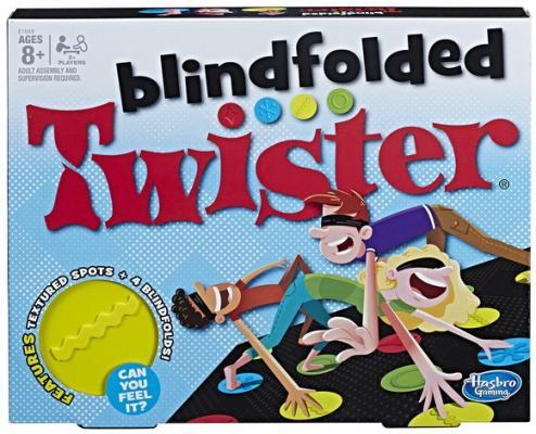 Напольная игра HASBRO семейная Твистер вслепую