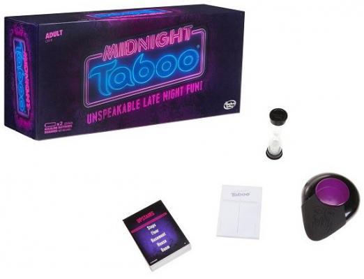 Настольная игра HASBRO для вечеринки Полночное Табу настольная игра hasbro hasbro настольная игра монополия миллионер