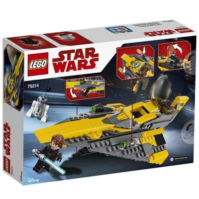Конструктор LEGO Звёздный истребитель Энакина 247 элементов 75214 lego star wars 75214 конструктор лего звездные войны звёздный истребитель энакина
