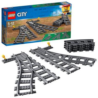 Конструктор LEGO Железнодорожные стрелки 60238