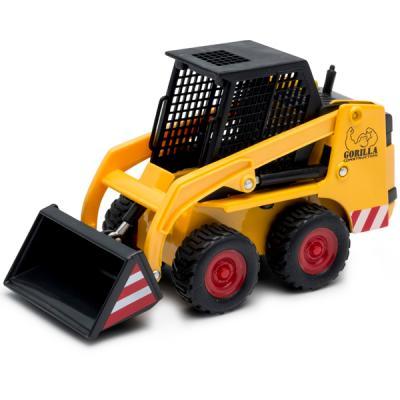 Погрузчик Welly Погрузчик городской желтый 92650 welly welly набор служба спасения пожарная команда 4 штуки