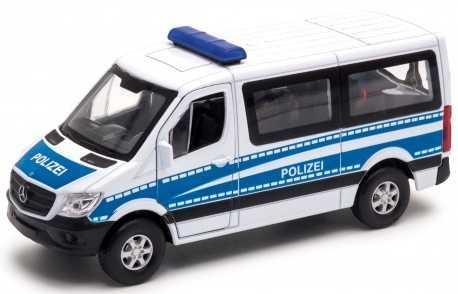 Полиция Welly Mercedes-Benz Sprinter 1:50 синий 43731P