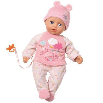 Игрушка my little BABY born Кукла с соской, 32 см, дисплей кукла zapf creation my little baby born 822524