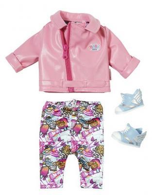 Одежда для кукол Zapf Creation Одежда для скутериста брендовая одежда