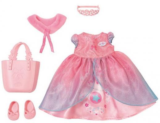 Одежда для кукол Zapf Creation Одежда для принцессы lovely striped baby girl одежда мальчик одежда брюки костюм малыш детские наряды одежда для ребенка