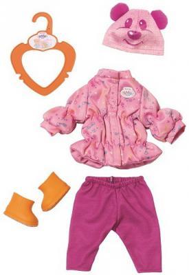 Одежда для кукол ZAPF Creation BABY born zapf creation zapf creation товары для кукол baby born памперсы 5 шт