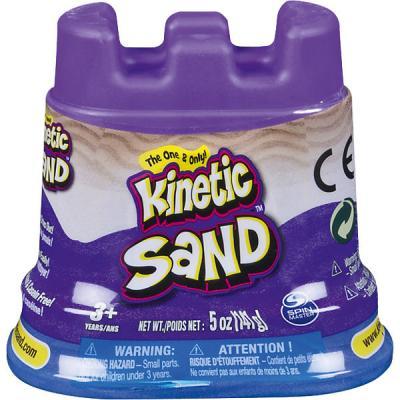Кинетический песок для лепки. 140 грамм в контейнере. 1 неоновый цвет.