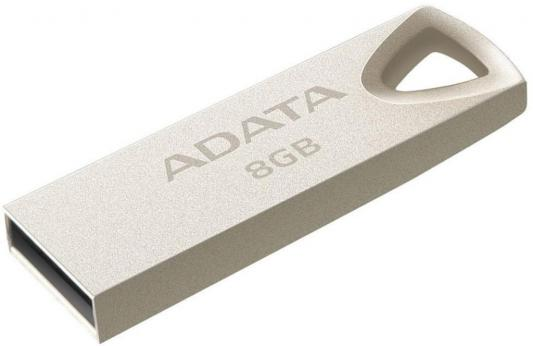 Фото - USB флешка A-Data UV210 8GB USB Gold (AUV210-8G-RGD) USB 2.0 zp 8gb флешка диск usb usb 2 0 пластик zp17101