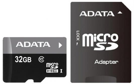 Карта памяти 32GB ADATA Premier Pro microSDXC UHS- U3 Class 10(V30S) 100/60 (MB/)  адаптером