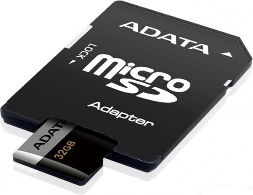 Карта памяти 32GB ADATA Premier Pro microSDXC UHS-I U3 Class 10(V30G) 95 / 90 (MB/s) с адаптером цена 2017