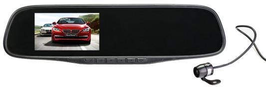 Видеорегистратор Silverstone F1 NTK-351Duo черный 5Mpix 1080x1920 1080p 140гр.