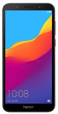 Смартфон Huawei Honor 7A 16 Гб черный смартфон honor 10 64 гб черный 51092jvu