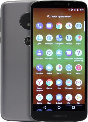Смартфон Motorola Moto E5 16 Гб серый