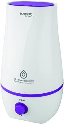 лучшая цена Увлажнитель воздуха Scarlett SC - AH986M14 белый фиолетовый