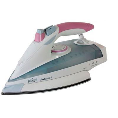 лучшая цена Утюг Braun TS755E 2400Вт белый/розовый