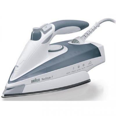 Утюг Braun TS775ETP 2400Вт серый/белый утюг braun texstyle7 ts725a 2400вт белый