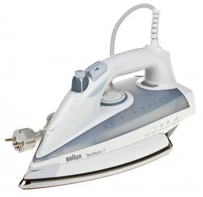 Утюг Braun TS785ESTP 2400Вт белый/серый утюг braun texstyle7 ts725a 2400вт белый
