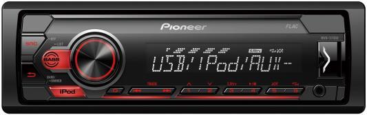 Автомагнитола Pioneer MVH-S110UI 1DIN 4x50Вт автомагнитола pioneer mvh s110uba 1din 4x50вт