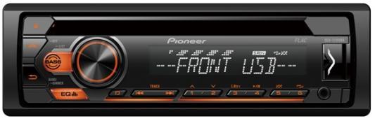 Автомагнитола CD Pioneer DEH-S110UBA 1DIN 4x50Вт автомагнитола cd pioneer deh 9450ub 1din