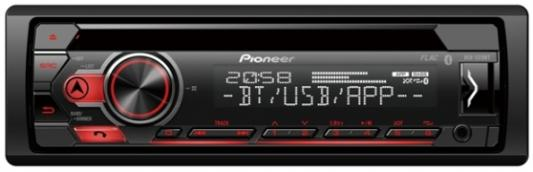 Автомагнитола CD Pioneer DEH-S310BT 1DIN 4x50Вт автомагнитола cd pioneer deh 80prs 1din