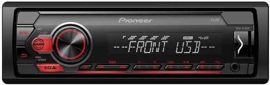 Автомагнитола Pioneer MVH-S110UB 1DIN 4x50Вт автомагнитола cd pioneer deh x8700bt 1din