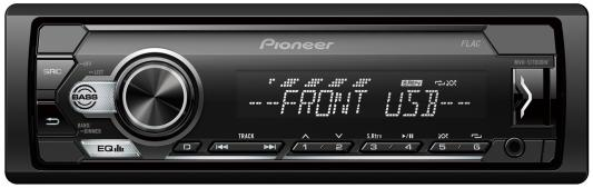 Автомагнитола Pioneer MVH-S110UBW 1DIN 4x50Вт автомагнитола pioneer mvh s110uig 1din 4x50вт
