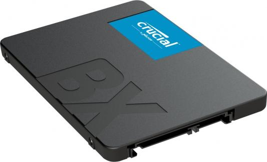 Накопитель SSD 2.5 240 Gb Crucial CT240BX500SSD1 Read 540Mb/s Write 500Mb/s 3D NAND TLC