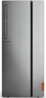ПК Lenovo IdeaCentre 720-18ASU MT Ryzen 7 1700 (3)/8Gb/1Tb 7.2k/GTX1050Ti 4Gb/DVDRW/CR/Windows 10/GbitEth/250W/черный/серебристый пк lenovo ideacentre 510 15icb mt i5 8400 2 8 8gb 1tb 7 2k rx 550 2gb dvdrw cr windows 10 gbiteth 210w серебристый