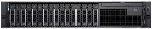 Сервер Dell PowerEdge R740 1xSilver 4114 1x16Gb x8 1x1Tb 7.2K 3.5 SATA H730p LP iD9En 5720 4P 1x750W 3Y PNBD (R740-3554)