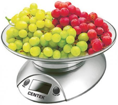Весы кухонные Centek CT-2451 серебристый