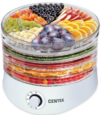 Сушилка для овощей и фруктов Centek CT-1657 белый сушилка для овощей и фруктов centek ct 1654