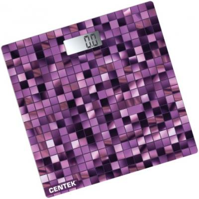 Весы напольные Centek CT-2426 Мозайка напольные весы centek ct 2430 forest