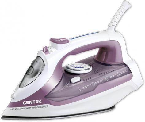 Утюг Centek CT-2353 фиолетовый утюг centek ct 2346
