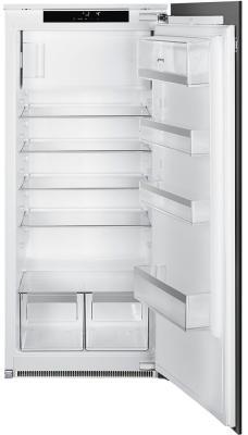 Встраиваемый холодильник SMEG/ Встраиваемый однодверный холодильник, морозильное отделение сверху, Дверца перенавешиваемая, петли справа, жесткое крепление фасадов smeg kitkcs