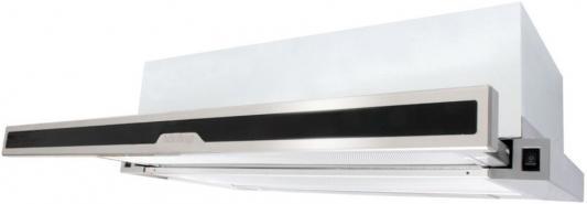 Встраиваемые вытяжки Korting/ Встраиваемая с выдвижным экраном, 60 см, 600 м3/ч, механическое управление, 2 режима, панель-нержавеющая сталь+черное стекло