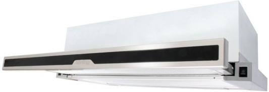 Встраиваемые вытяжки Korting/ Встраиваемая с выдвижным экраном, 50 см, 600 м3/ч, механическое управление, 2 режима, панель-нержавеющая сталь+черное стекло