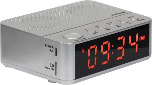 цена на Defender Портативная акустика Enjoy M800 cеребр., 3Вт, BT/Alarm/FM/USB