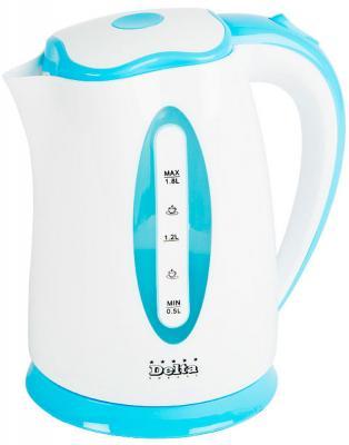 Чайник DELTA DL-1269 белый с голубым ostin mt1qb1 67
