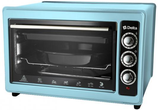 Мини-печь DELTA D-023 голубая (рестайлинг) цена и фото
