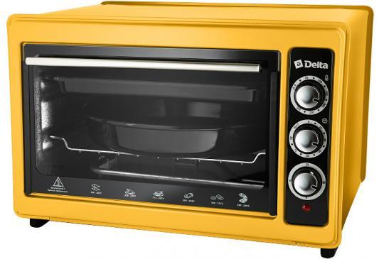 Мини-печь DELTA D-023 желтая (рестайлинг) цена и фото
