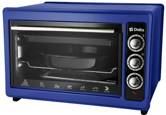 Мини-печь DELTA D-023 синяя (рестайлинг) мини печь delta d 0423k