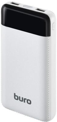 Фото - Мобильный аккумулятор Buro RC-16000-WT Li-Ion 16000mAh 2.1A белый 2xUSB внешний аккумулятор для портативных устройств buro rc 5000wb 5000mah белый голубой rc 5000wb