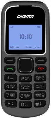 Мобильный телефон Digma Linx A105 2G 32Mb серый моноблок 1.44 98x68 GSM900/1800 мобильный телефон digma linx a242 2g черный фиолетовый