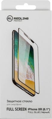 Защитное стекло Red Line Full Screen для iPhone XR 0.33 мм УТ000016086 черная рамка