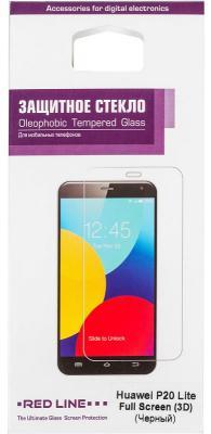 Защитное стекло для экрана Redline черный для Huawei P20 Lite 3D 1шт. (УТ000015072) аксессуар защитное стекло для huawei p20 pero 2 5d black prmg hp20b