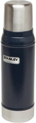 Термос Stanley Classic (10-01612-010) 0.75л. синий/серебристый